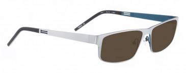 Bellinger VENT-1-9844 Sunglasses in Matt Silver