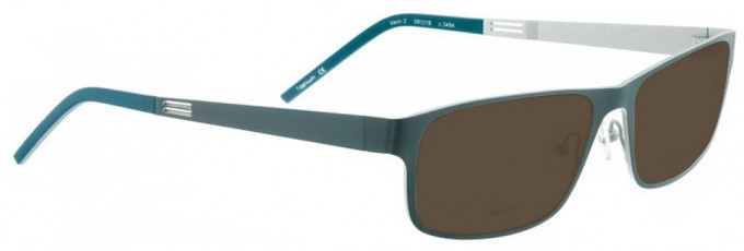 Bellinger VENT-2-3494 Sunglasses in Army Green