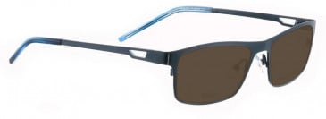 Bellinger VIKING-1-4000 Sunglasses in Shiny Dark Blue