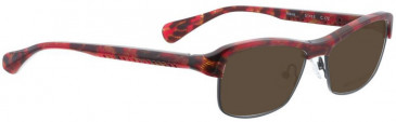 Bellinger ALEXIS-172 Sunglasses in Red Pattern
