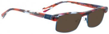 Bellinger BOUNCE-JFK-5-239 Sunglasses in Brown Tortoiseshell