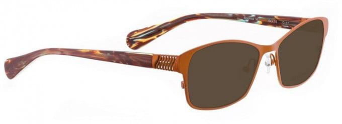 Bellinger BOUNCE-M1-57 Sunglasses in Orange Pearl