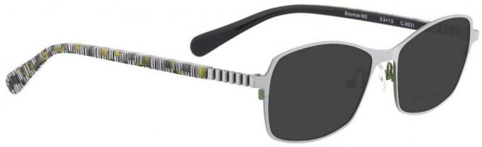 Bellinger BOUNCE-M2-9831 Sunglasses in White Pearl