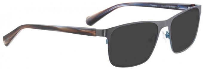 Bellinger DEXTER-3-7245 Sunglasses in Grey
