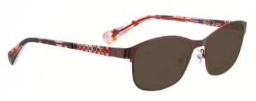 Bellinger GROOVES-2849 Sunglasses in Matt Dark Brown