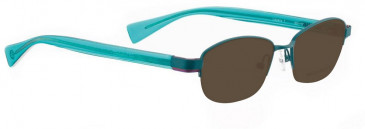 Bellinger LAYERS-1-47 Sunglasses in Turquoise