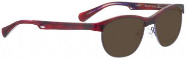 Bellinger PAMELA-116 Sunglasses in Red Pattern