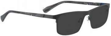 Bellinger RAPID-1-9017 Sunglasses in Matt Black/Red