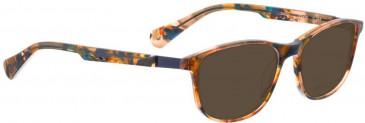 Bellinger ZIRCON-245 Sunglasses in Brown/Blue Pattern