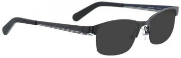 Bellinger CHAMPAGNE-7941 Sunglasses in Dark Grey