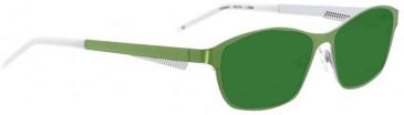 Bellinger TURBULENS-3798 Sunglasses in Light Green Pearl