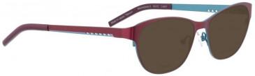 Bellinger MOONSPACE-2-6947 Sunglasses in Aubergine