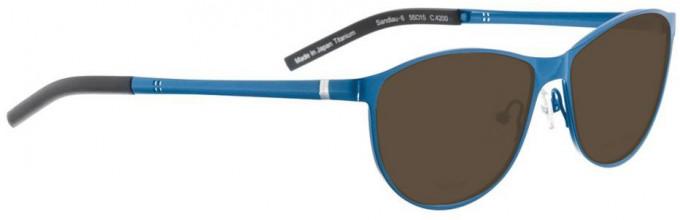 Bellinger SANDLAU-6-4200 Sunglasses in Blue Pearl