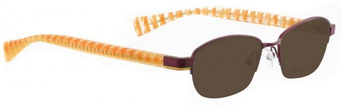 Bellinger LAYERS-1-69 Sunglasses in Aubergine
