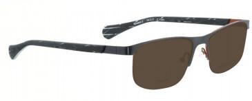 Bellinger SPEED-2-7250 Sunglasses in Matt Gun/Matt Orange