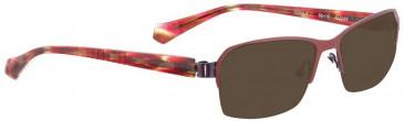 Bellinger SPIRAL-6-1068 Sunglasses in Red