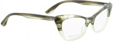 Entourage of 7 DORIS Glasses in Green Crystal