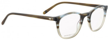 Entourage of 7 ERIC Glasses in Brown/Blue Crystal