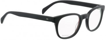 Entourage of 7 HANK Glasses in Matte Black