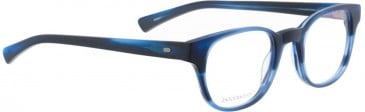 Entourage of 7 HUEY Glasses in Matte Blue Pattern