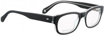 Entourage of 7 JILL Glasses in Black Crystal