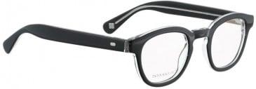 Entourage of 7 KYLE Glasses in Black Crystal