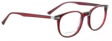 Entourage of 7 ROSECRANS Glasses in Red