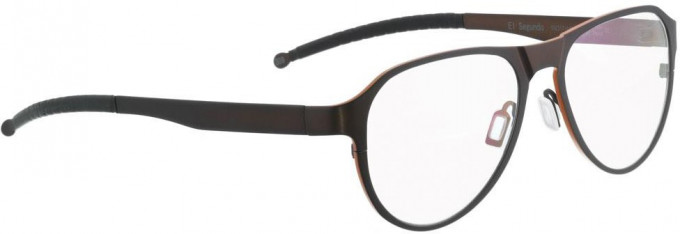 Entourage of 7 ELSEGUNDO Glasses in Dark Brown/Orange