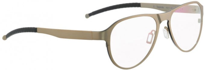 Entourage of 7 ELSEGUNDO Glasses in Gold/Black
