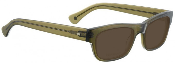 Entourage of 7 ROY Sunglasses in Bottle Green Crystal