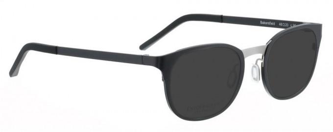 Entourage of 7 BAKERSFIELD Sunglasses in Black/Grey
