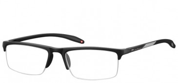 SFE Ready-Made Reading Glasses in Matt Black