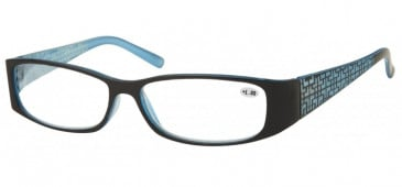 SFE Ready-Made Reading Glasses in Black/Blue