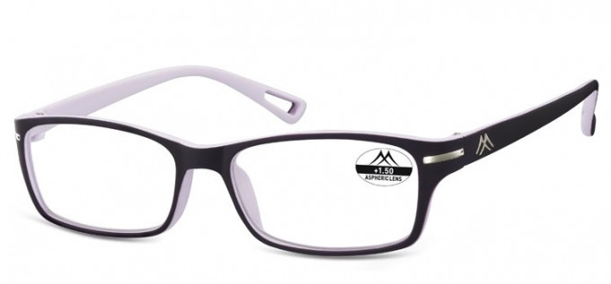 SFE Ready-Made Reading Glasses in Black/Light Purple