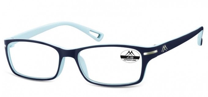 SFE Ready-Made Reading Glasses in Navy/Light Blue