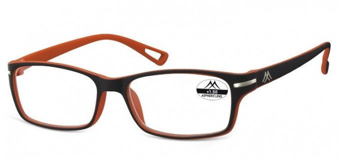 SFE Ready-Made Reading Glasses in Black/Red