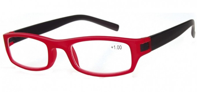 SFE Ready-Made Reading Glasses in Red