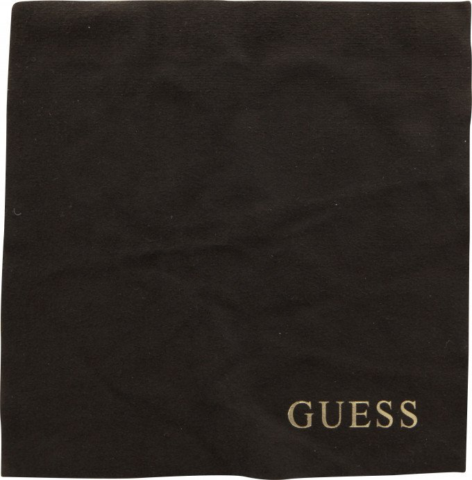 Guess Lens Cloth in Brown/Gold