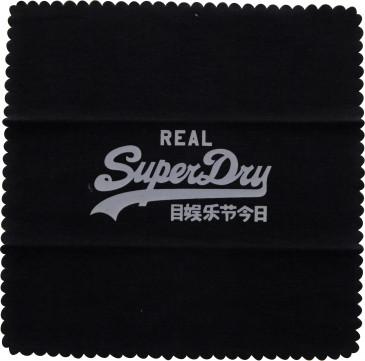 Superdry Lens Cloth in Black