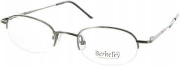 BERKELEY Metal Prescription Glasses in Shiny Gunmetal