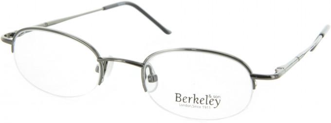 BERKELEY Metal Prescription Glasses in Shiny Gunmetal
