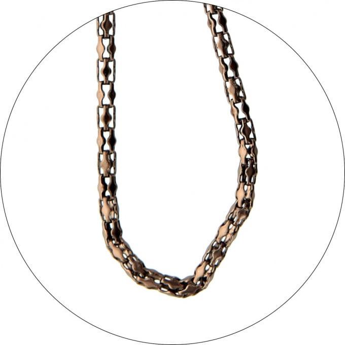 SFE Metal Glasses Cord Bronze