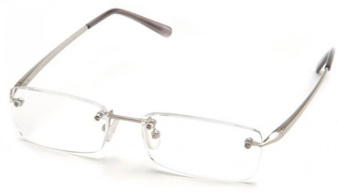 SFE 9308 Ready-made Reading Glasses in Silver