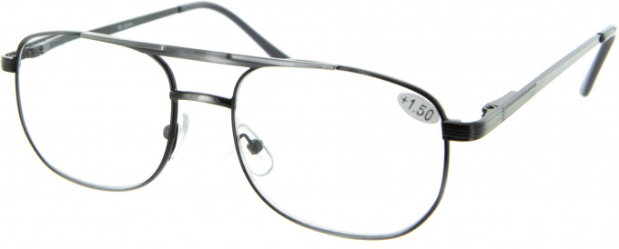 SFE 9310 Ready-made Reading Glasses in Antique Silver