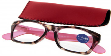 SFE 9320 Ready-made Reading Glasses in Red