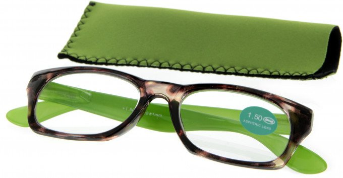 SFE 9320 Ready-made Reading Glasses in Green