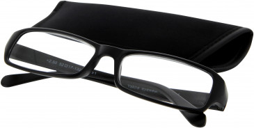 SFE 9322 Ready-made Reading Glasses in Matt Black