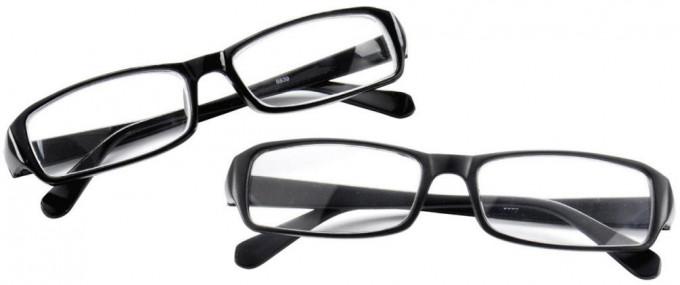 SFE 9322 Ready-made Reading Glasses in Matt Black