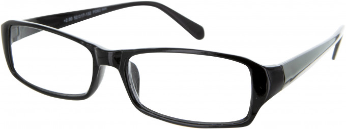 SFE 9322 Ready-made Reading Glasses in Gloss Black