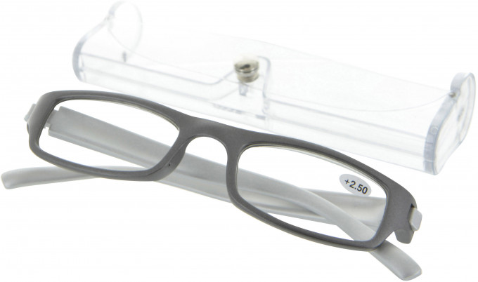 SFE 9324 Ready-made Reading Glasses in Gunmetal